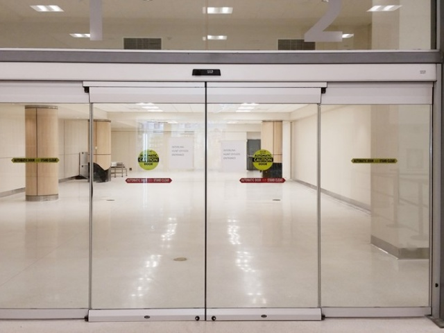 Commercial Glass Entry Sliding Automatic Door