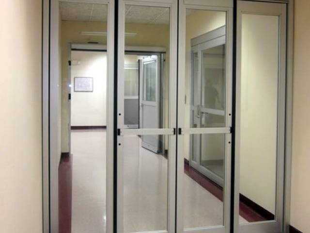 Folding ICU Automatic Doors